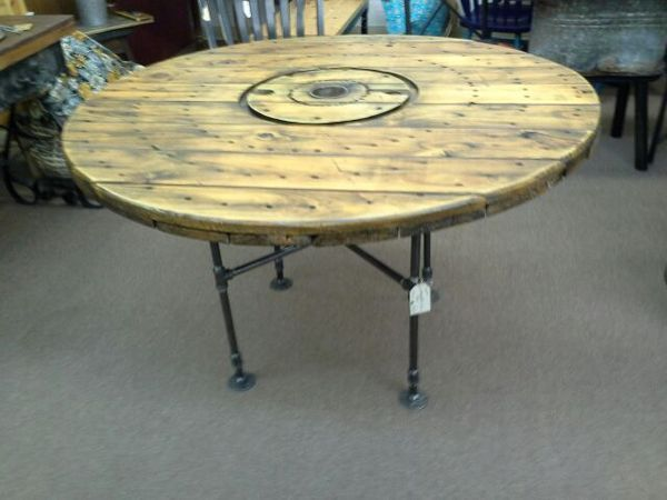 Industrial Spool Table For Sale In Mesa Az Spool Tables Wooden