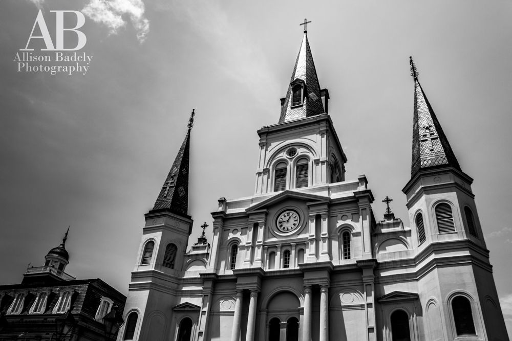 Visit New Orleans and see it for yourself! The beautiful St. Louis Cathedral in the New Orleans French Quarter | New Orleans Photography