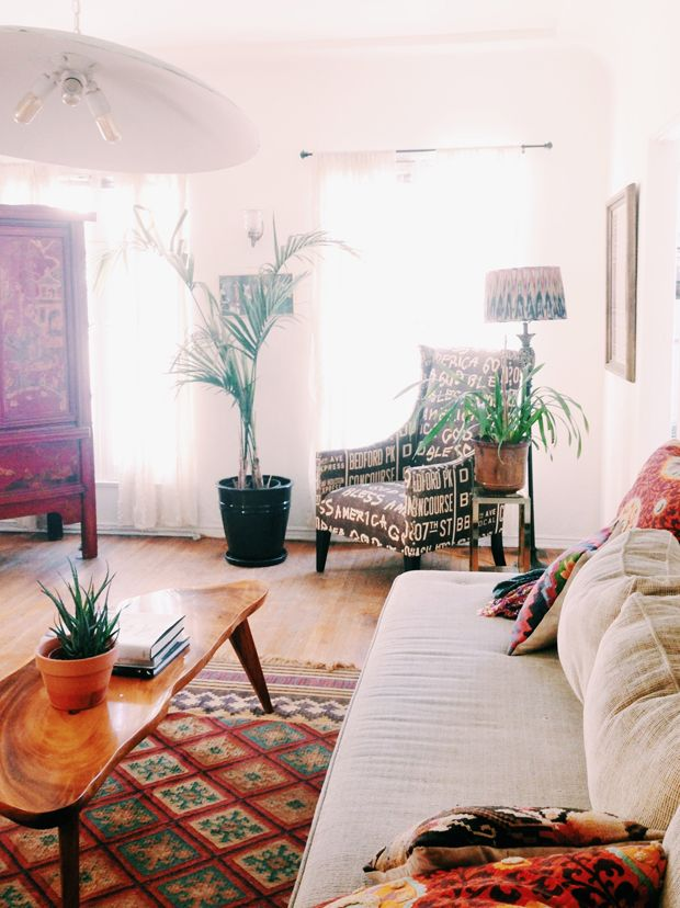 Cami S Weho Jewel Toned Abode After Decorating Small Spaces Home Decor Home Living Room