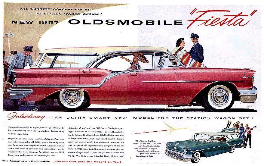 Melendez Auto Sales >> 1957 oldsmobile fiesta station wagon   Share   GM   Station wagon, Oldsmobile 88, Vintage cars