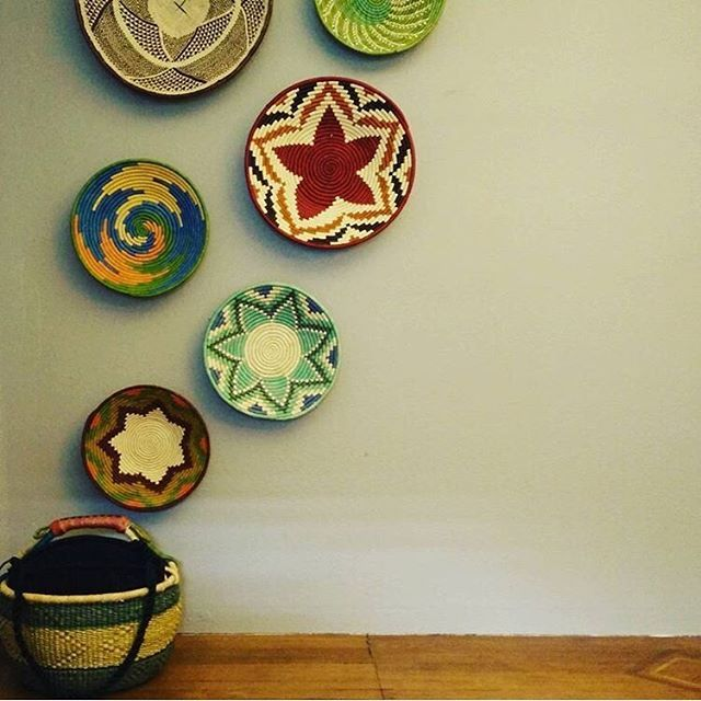 We agree with @midmodernhome...every house needs a basket wall! Show us how you incorporate your fair trade finds from Villages into your style with #LiveLifeFair, and we will share our favorites!