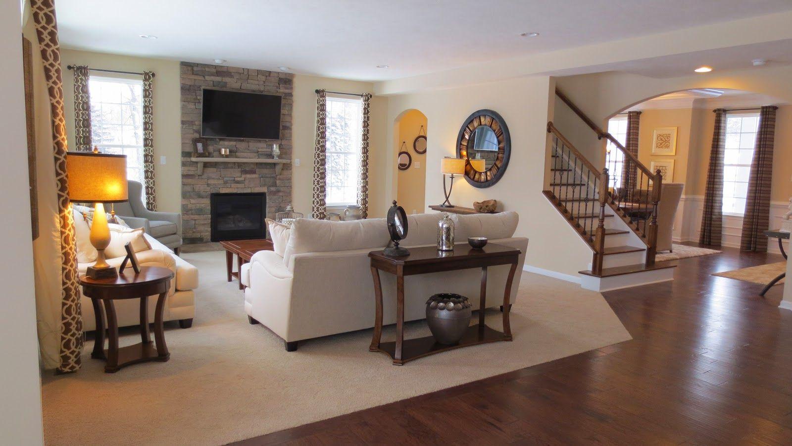 Ryan Home: Landon Great Room | House: Ryan Homes Landon | Pinterest ...