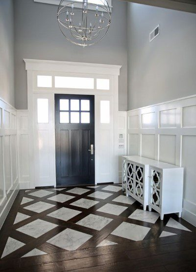 Unique Millwork Wall Covering And