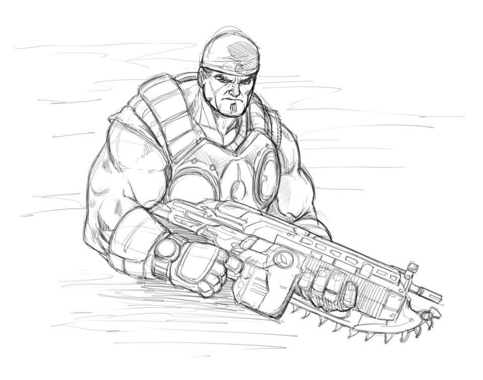 Pin De Marcus Jancus En Illustration Dibujos Mejores Fondos De Pantalla De Videojuegos Gears Of War