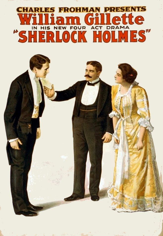 Long running play where in the final act Sherlock Holmes gets married.