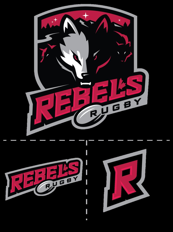 Artslinger Rugby Logo Sports Logo School Logo