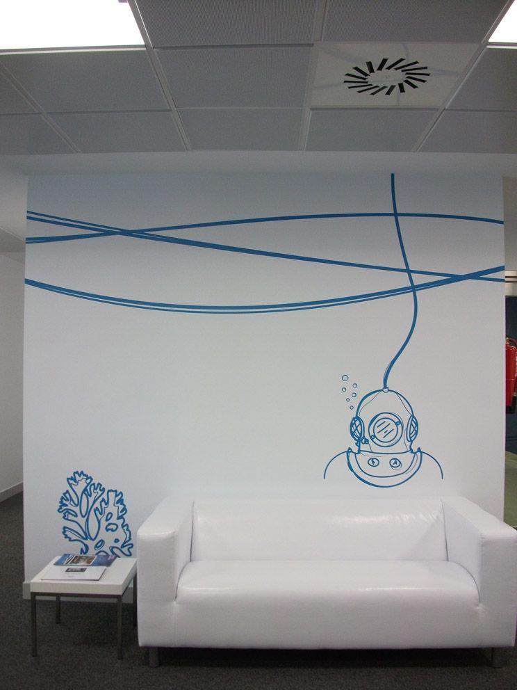 Rotusa, rotulamos tus ideas vinilos decoración pared