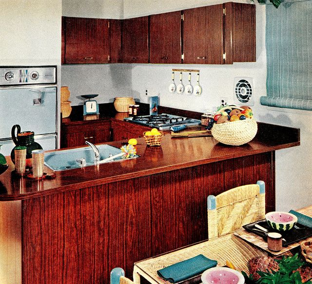 Fruity Blues! Family circle, Kitchen colors and Vintage interiors