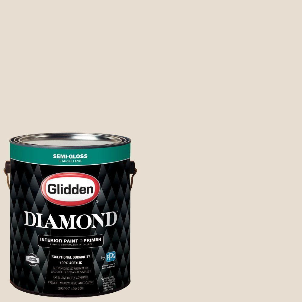 Ppg Diamond 1 Gal Hdgwn29 Cappuccino White Semi Gloss Interior Paint With Primer Hdgwn29d 01sn Interior Paint Paint Primer Flat Interior