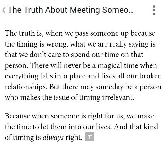 The Truth About Meeting Someone At The Wrong Time Love
