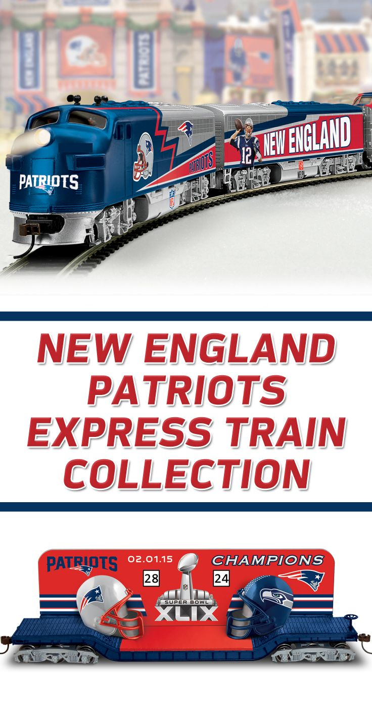 Patriots Train Collection With Super Bowl LIII Champions