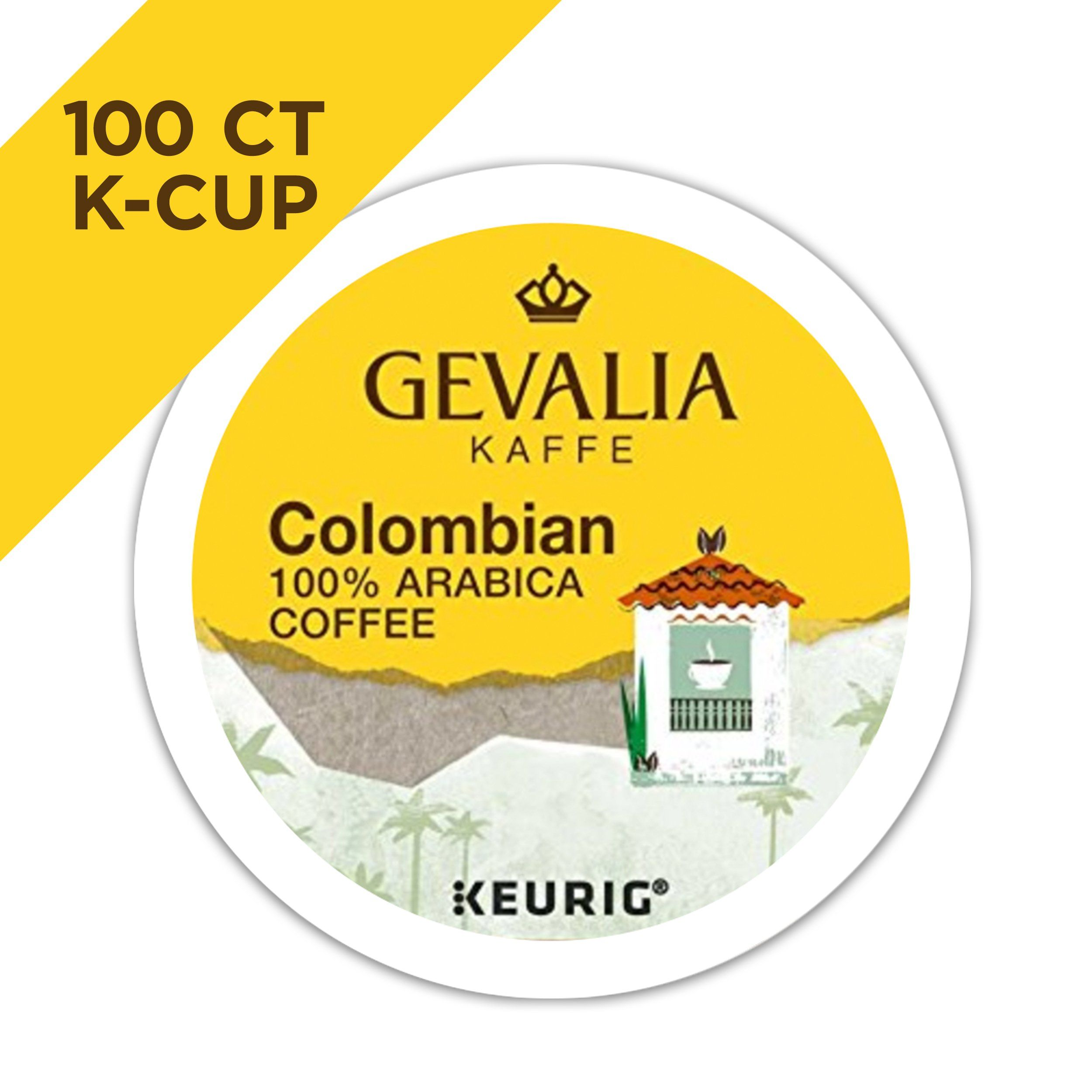 Gevalia Colombia Coffee KCUP Pods 100 Count >>> You can