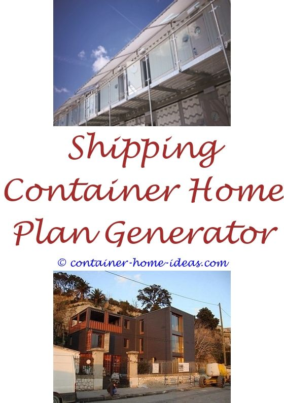 40 Single Shipping Container Home Plans Cargo container Storage