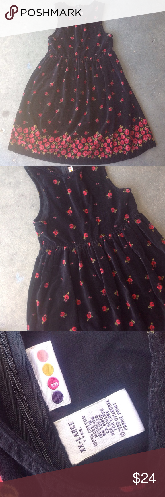 Gymboree red roses dress size years red roses gymboree and