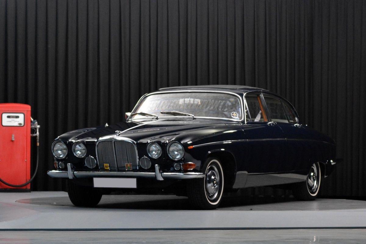 1969 Jaguar 420 G Perfectly Restored Big Sliding Roof Classic Cars Jaguar Car Jaguar