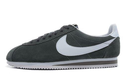 Grey Suede Nike Cortez