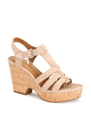 COACH Kennedy Platform Sandals. #coach #shoes #sandals