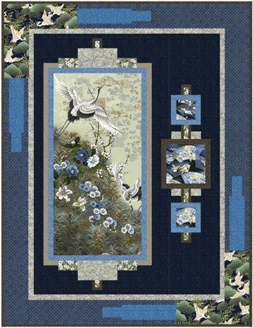 """I like this """"Serene Wall Quilt"""" 