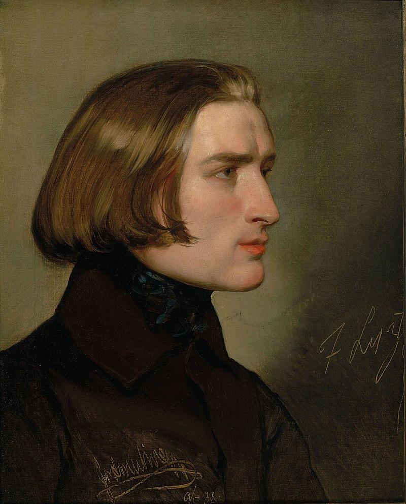 Portrait Of Franz Liszt By Friedrich Von Amerling Category Friedrich Von Amerling Wikimedia Commons Portrait Liszt Classical Musicians