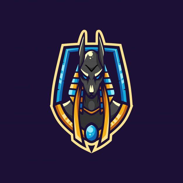 Awesome Anubis Esport Logo
