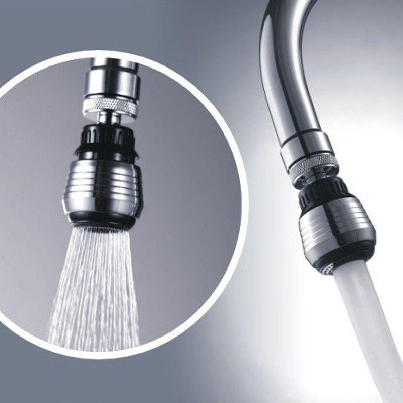 Water Tap Bubbler Faucet Aerator Adapter 360 Degree Swivel Head ...
