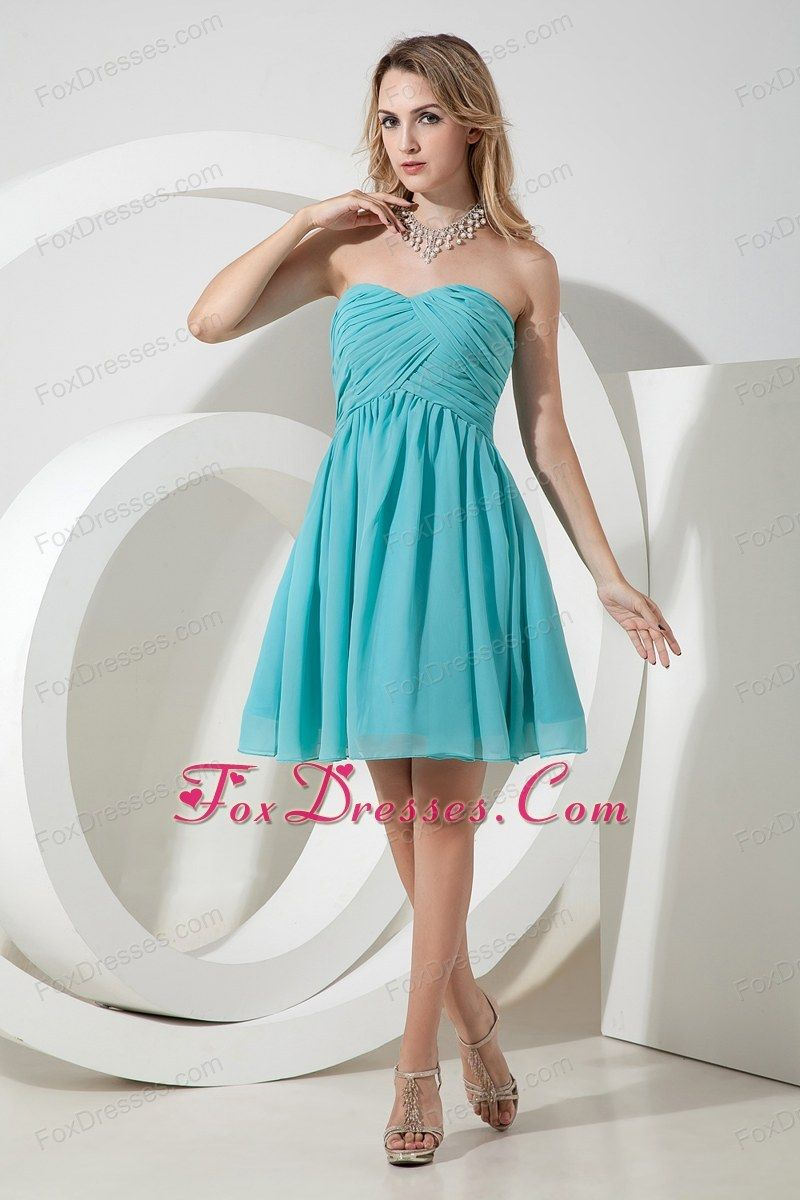 Lovely With A Fun Necklace Great Shape For Many Body Types Dama Dresses Knee Length Bridesmaid Dresses Junior Homecoming Dresses [ 1200 x 800 Pixel ]