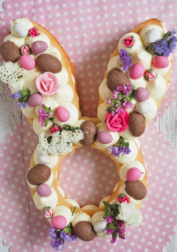 Osterhasen-Sahne-Torte #Osterhasen #sahne #Torte