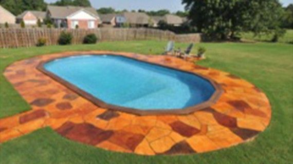 Doughboy provides homeowners the only above-ground swimming pool to ...