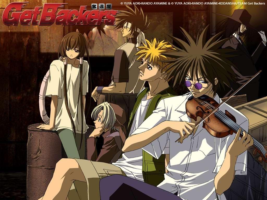 GetBackers   Anime   Pinterest   Anime, Anime watch and Manga