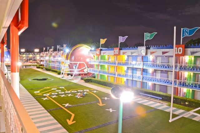 A Review Of Disney S All Star Sports Resort