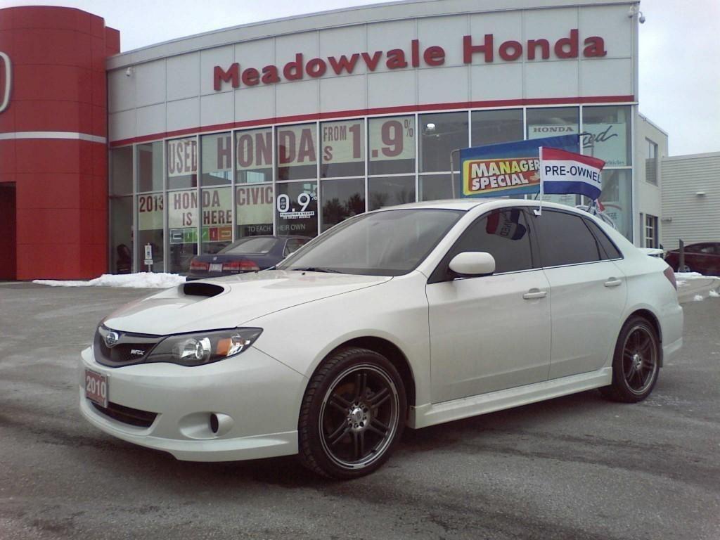 2010 Subaru Impreza (White)