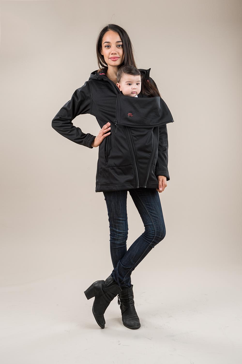 Nighty Night Black M Shell Light Jacket Maternity Coat How To Wear