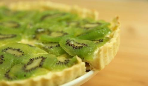 طريقة عمل تارت الكيوي زيتونة Homemade Recipes Food Dessert Recipes