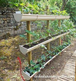Faire un potager en carré de jardin ou suspendu avec 3 fois rien ...