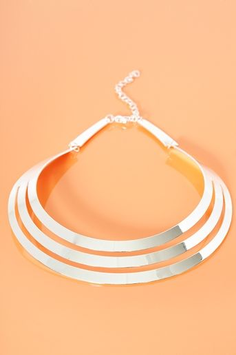 Cut It Out Collar Necklace