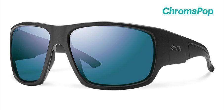 05dbc7c344b29 Smith - Dragstrip Elite Black Sunglasses   Chromapop Polarized Blue Mirror  Lenses