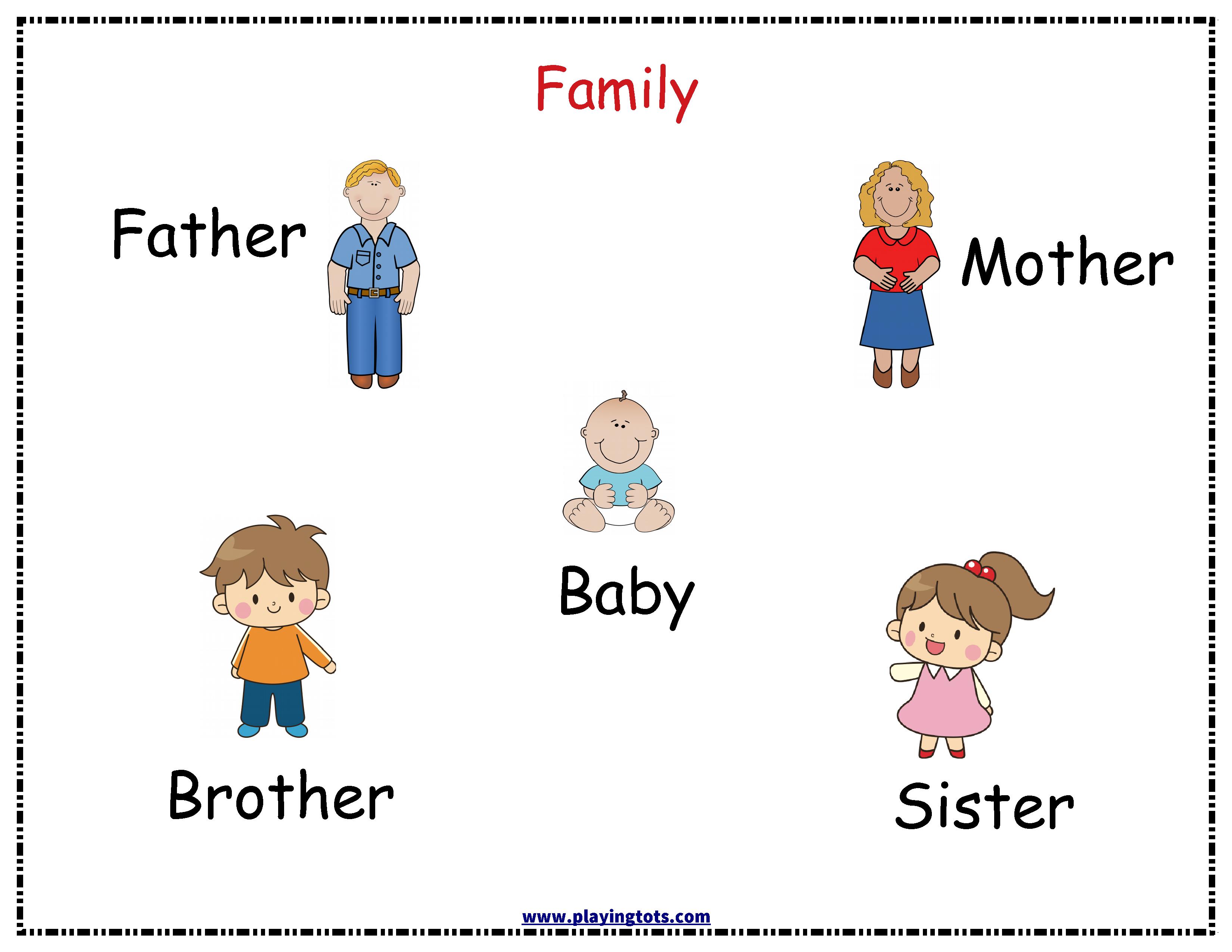 family,chart,toddler,free,printable,preschool,file,folder