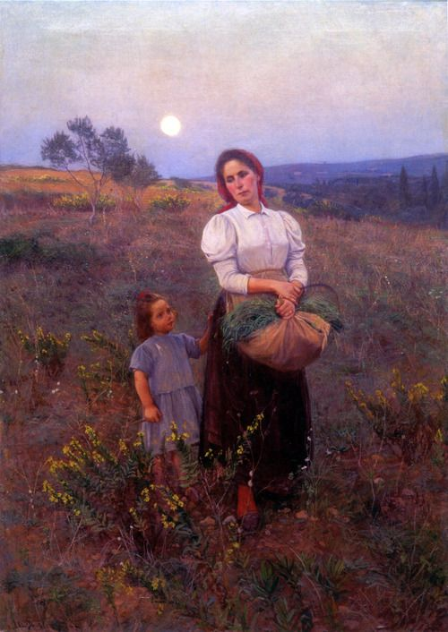 ELIN DANIELSON-GAMBOGI - RETURNING HOME 1901 (PRIVATE COLLECTION)