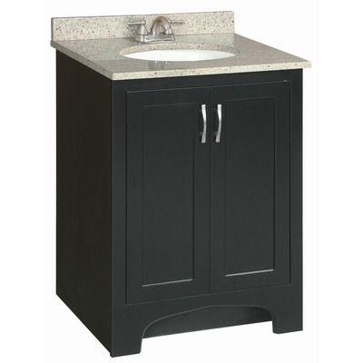 Design House Ventura 24 X 21 Double Door Vanity Cabinet With Single Top Bathroom Vanities Without Tops Vanity Cabinet Single Bathroom Vanity