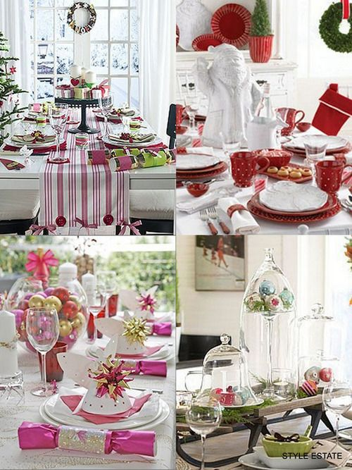 Top 100 Christmas Table Decorations Table decorations, Decoration - christmas table decorations