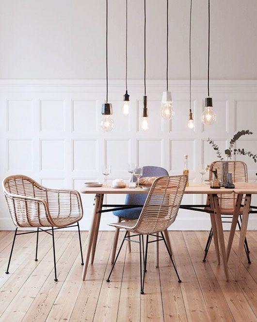 Rattan Is My Jam Sfgirlbybay Minimalist Dining Room Scandinavian Dining Room Modern Dining Room