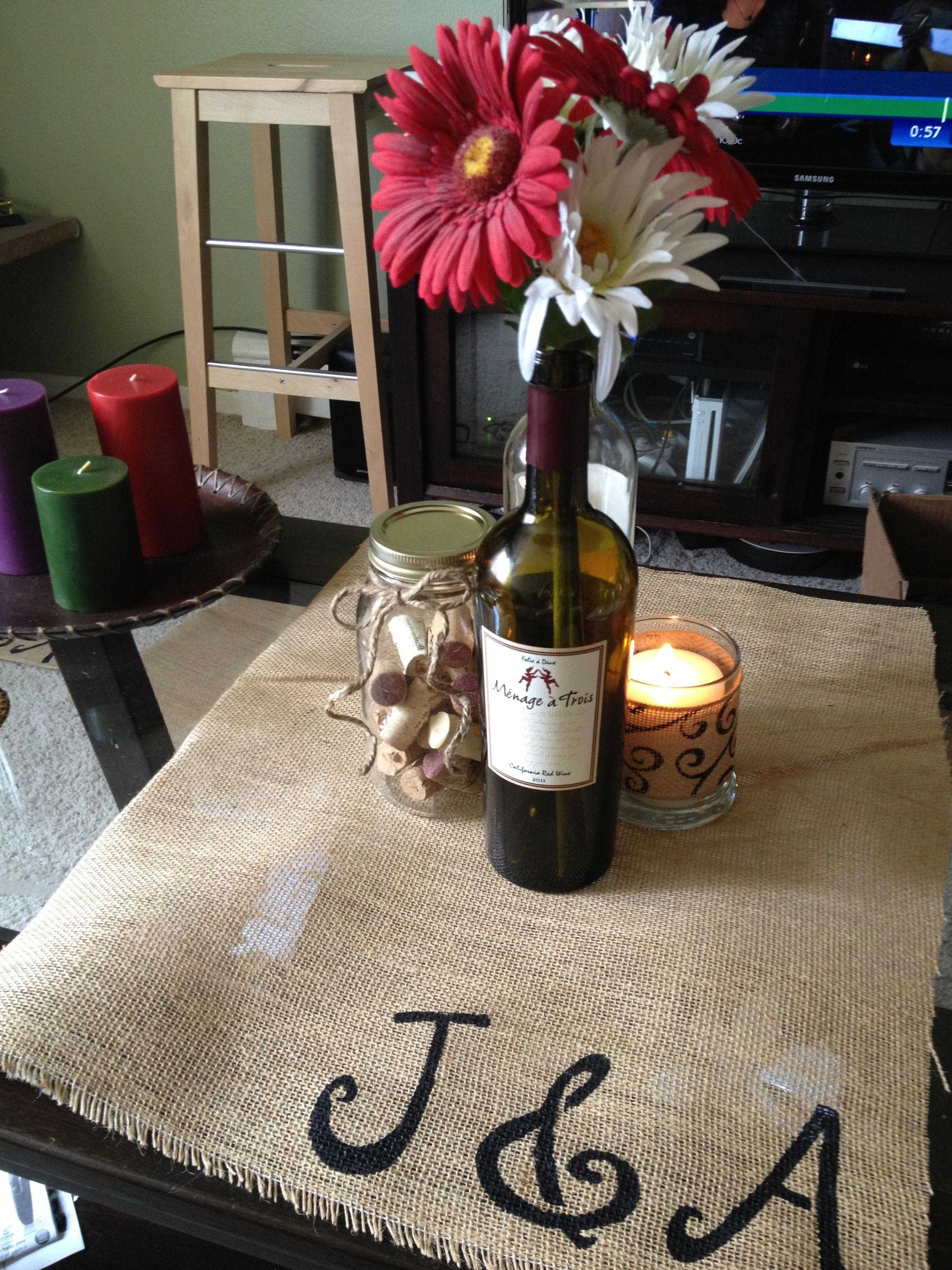 wine theme centerpiece wineevents