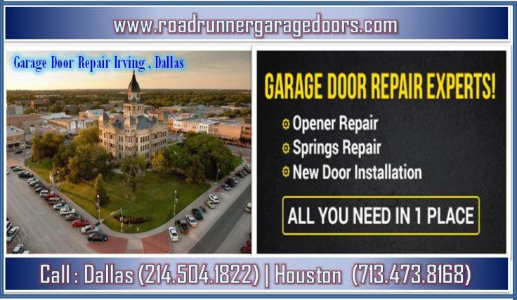 Fastest Garage Door Repair Service in Irving, Dallas Garage doors