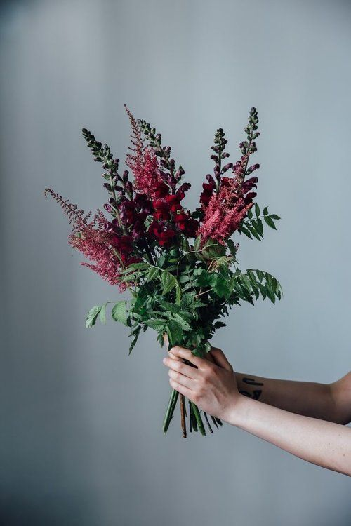 Bouquet Breakdown: Moody, Lush and Textural — Good Seed Floral Design