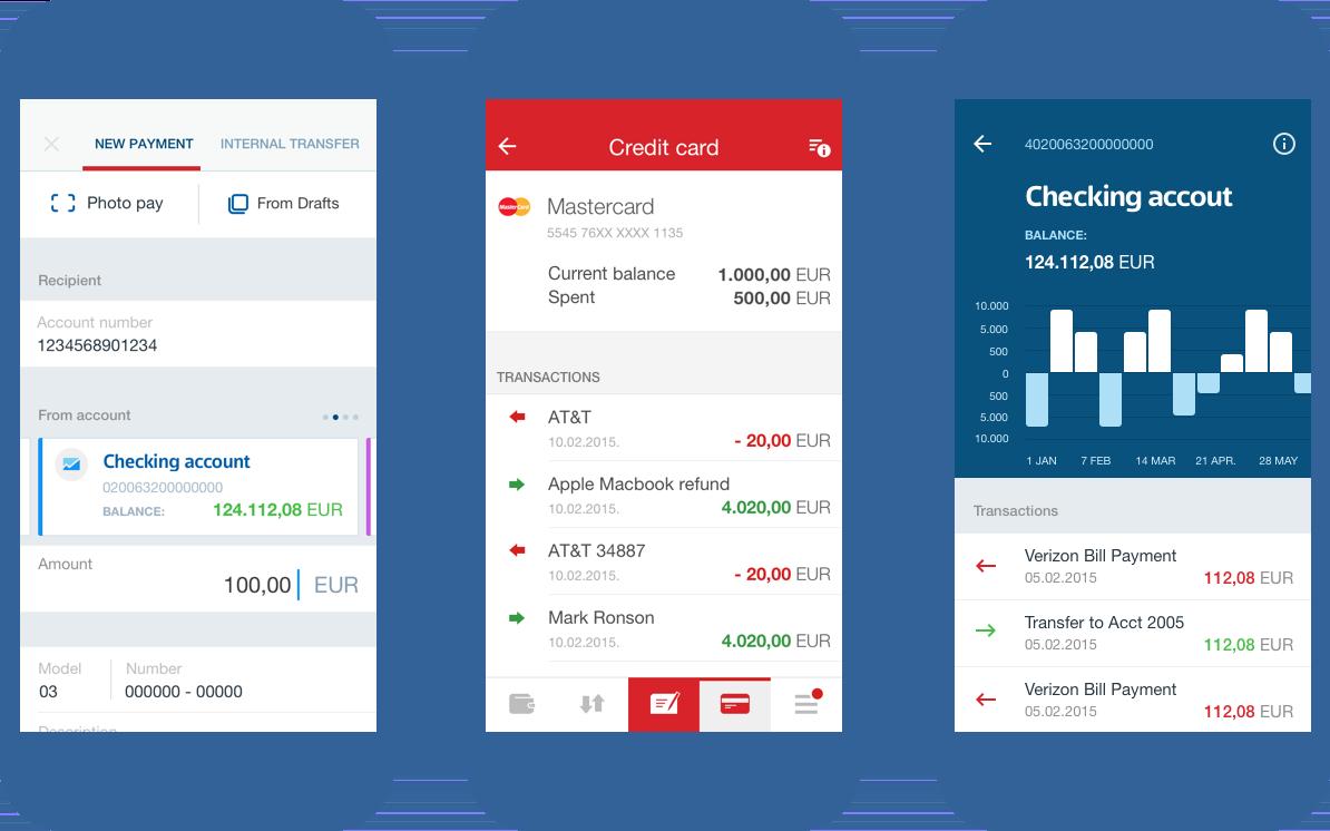 An Infinum case Mobile Banking