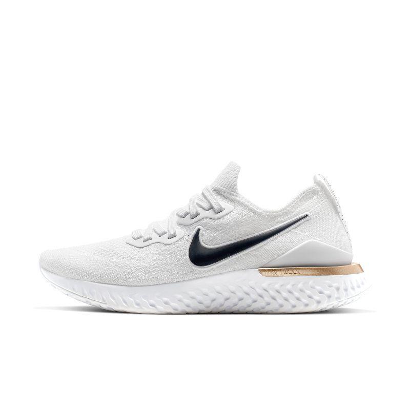 desagüe micro ecuador  Nike Epic React Flyknit 2 Unité Totale Women's Running Shoe - White | Nike  running shoes women, Womens running shoes, Nike