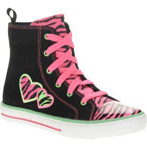 Op Girls  Bright Zebra Hi Top Sneaker  dd4e7e5b8