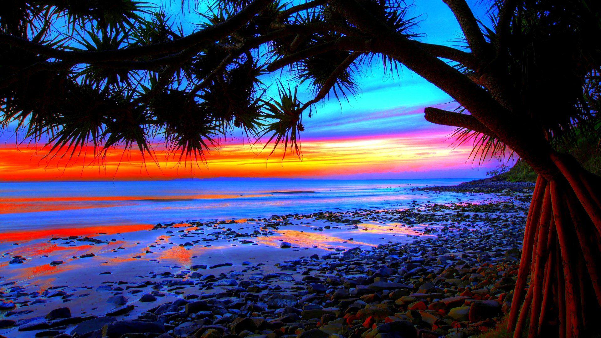 wallpaper-sunset-background-beach-wallpapers-beaches-high ...