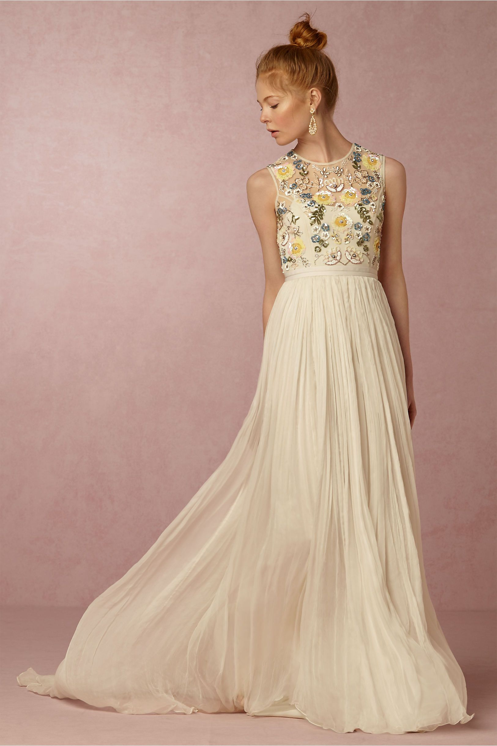 BHLDN Paulette Dress in Bride Reception & Rehearsal Dress with 70\'s ...