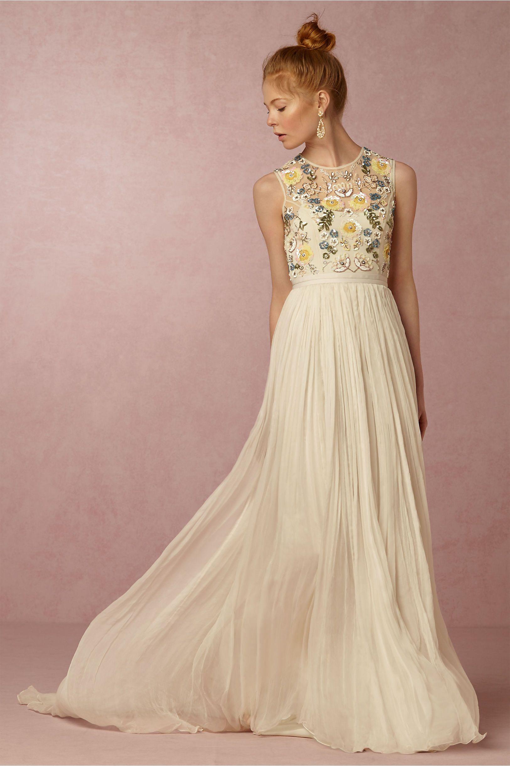BHLDN Paulette Dress in Bride Reception Dresses at BHLDN | Dresses ...
